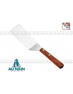 Pelle coudée palissandre 15 AU NAIN 501N1360101 AU NAIN® Coutellerie Ustensiles de Cuisine