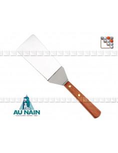 Pelle Tranchante Palissandre 15 AUNAIN A38-1360201 AU NAIN® Coutellerie Couverts de Service
