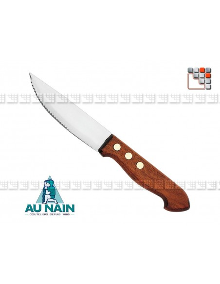 Knife trapper pattern large rosewood AU NAIN A38-1281301 AU NAIN® Coutellerie cutting