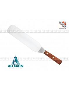 Pelle coudée palissandre 21 AU NAIN 501N1360401 AU NAIN® Coutellerie Ustensiles de Cuisine