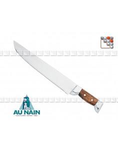 Couteau a Decouper Chasse et Pêche Palissandre AU NAIN 501N1623 AU NAIN® Coutellerie Découpe