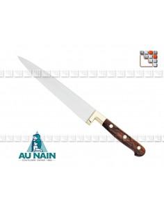 Couteau Cuisine Prince Gastronome Palissandre AUNAIN A38-1800 AU NAIN® Coutellerie Couteaux & Découpe