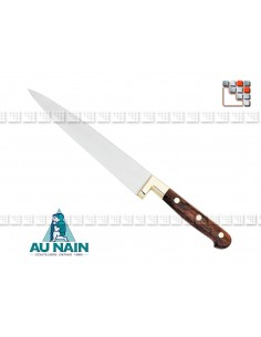 Knife Kitchen Prince Gastronome Rosewood To The Dwarf A38-1800 AU NAIN® Coutellerie cutting