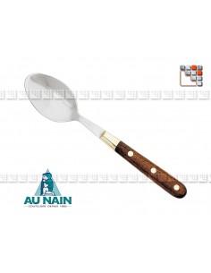 Cuillère Soupe Palissandre Prince Gastronome AUNAIN A38-1801801 AU NAIN® Coutellerie Art de la table