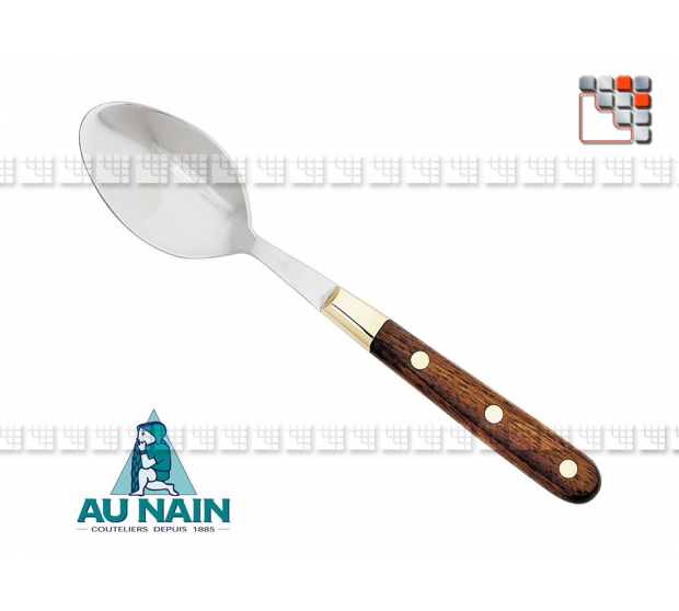 Tablespoon rosewood Prince Gastronome of The Dwarf A38-1801801 AU NAIN® Coutellerie Table decoration