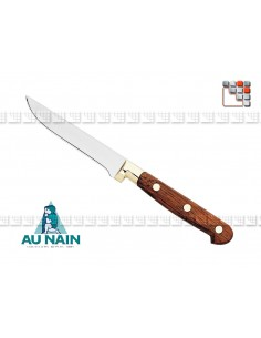 Knife, boning worn rosewood 13 THE DWARF A38-1800501 AU NAIN® Coutellerie cutting