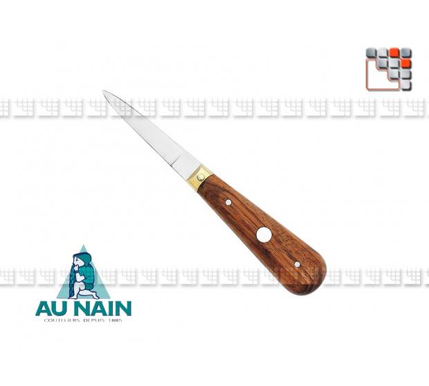 Couteau à huître lancette palissandre AU NAIN 501N1622401 AU NAIN® Coutellerie Découpe