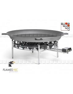Bruleur Industriel O-1200 98 Kw Flames VLC F08-O1200 FLAMES VLC® Bruleur Gaz Flames VLC
