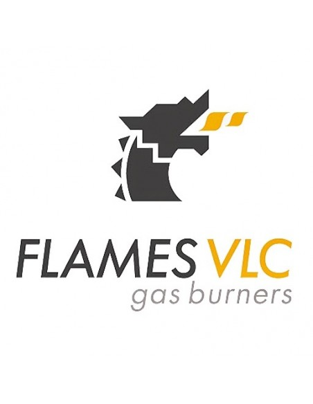 Burner for Industrial O-1200 98 Kw Flames with VLC F08-O1200 FLAMES VLC® Burner Gas Flames VLC