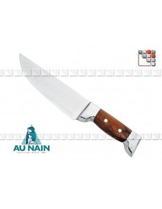 Knife Fregate Rosewood to THE DWARF 501N1741601 AU NAIN® Coutellerie cutting
