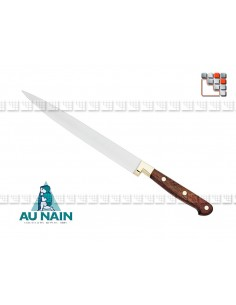 Knife tranchelard rosewood 23 of THE DWARF 501N1800801 AU NAIN® Coutellerie cutting