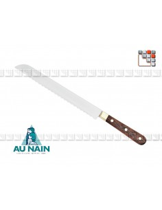 Knife bread rosewood 20 of THE DWARF A38-1801 AU NAIN® Coutellerie cutting