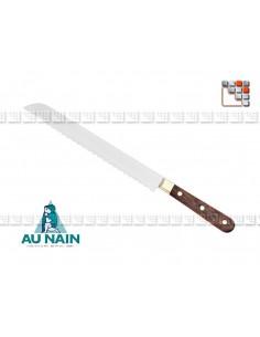 Couteau Pain Palissandre 20 AUNAIN A38-1801 AU NAIN® Coutellerie Couteaux & Découpe