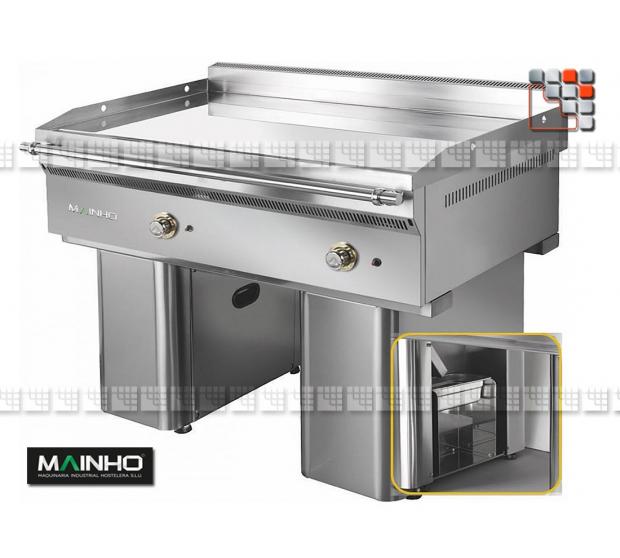 Fry-Top FC-120 7 Fullcrom Mainho M04-FC120/7 MAINHO® FryTops MAINHO EURO-CROM SNACK