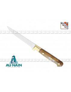 Couteau steak corne 11 AU NAIN 501N1890305 AU NAIN® Coutellerie Art de la table