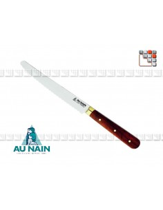 Table knife-tooth rosewood AU NAIN A38-1300701 AU NAIN® Coutellerie Table decoration