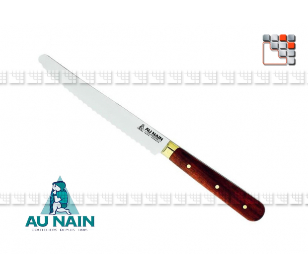 Table knife-tooth rosewood to THE DWARF A38-1300701 AU NAIN® Coutellerie Table decoration