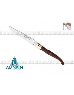 Couteau Laguiole de table en amourette AUNAIN A38-1903001 AU NAIN® Coutellerie Art de la table