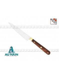 Couteau Office Palissandre 10 AUNAIN A38-1800201 AU NAIN® Coutellerie Couteaux & Découpe