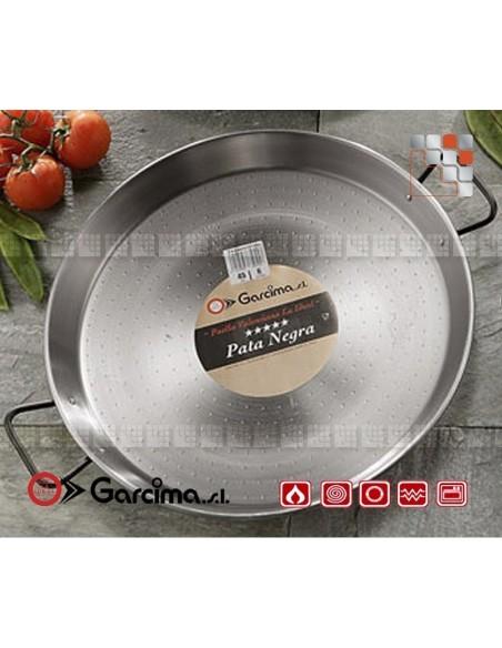 Plat Paella D34 PataNegra Induction Garcima G05-85134 GARCIMA® LaIdeal Plat Paella Poli PataNegra Garcima