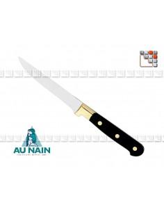 Couteau steak noir AUNAIN A38-1830301 AU NAIN® Coutellerie Couteaux & Découpe