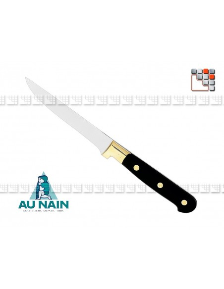Knife steak black DWARF 501N1830301 AU NAIN® Coutellerie Table decoration