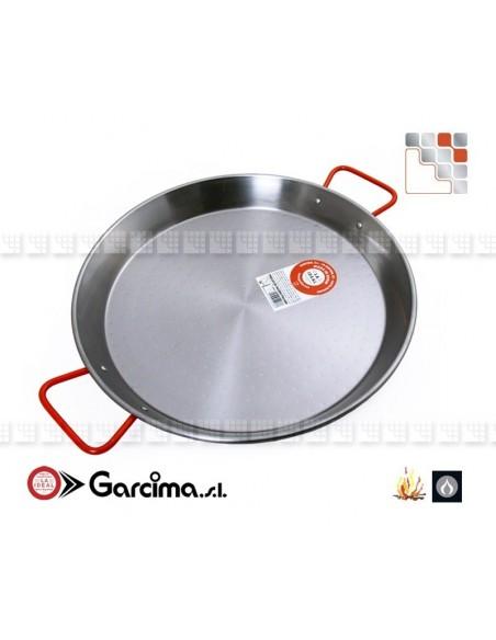 Plat Paella D65 Poli Garcima G05-10065  Plat Paella Poli PataNegra Garcima