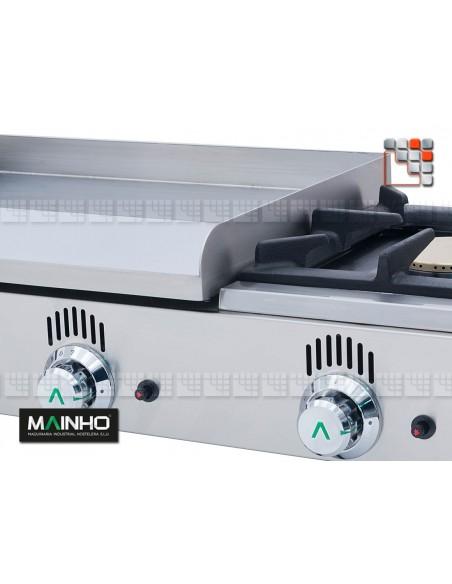 Plancha NCF-60 Novo-Crom Gas Mainho NCF-60 MAINHO® Plancha MAINHO NOVO CROM SNACK