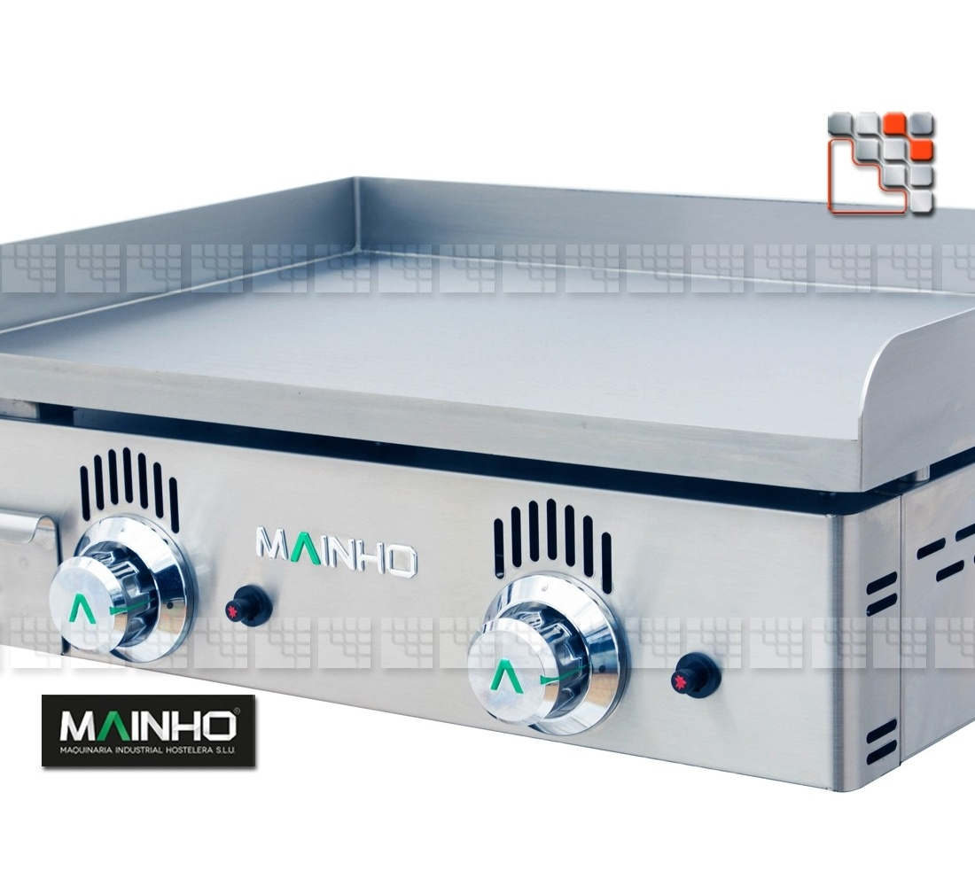 Plancha Gas NS-60 MAINHO with or without protective cover