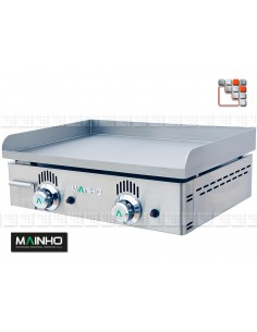 Plancha Gas NS-60 Cast iron and ground Mainho