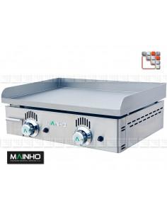 Plancha NS-60 Gaz Fonte Mainho 104NS60 MAINHO® Planchas MAINHO NOVO CROM SNACK