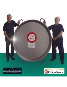 Paella pan Giant D200 Garcima 10900 GARCIMA® LaIdeal Paella Poli dish PataNegra Garcima