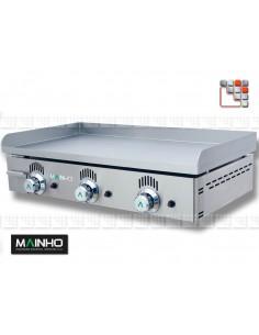 Plancha NS-80 Gaz Fonte Mainho 104NS80 MAINHO® Planchas MAINHO NOVO CROM SNACK