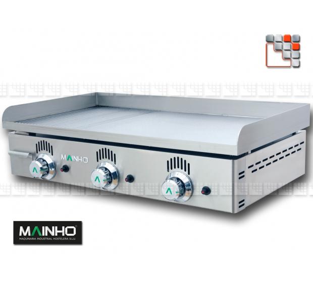 Plancha NCR-80 Semi Grooved Mainho