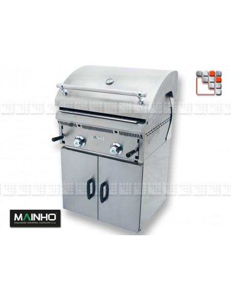 Parrillas PBI-60 Bras-Grill 55 Mainho M04-PBI60 MAINHO® Royal Nova Bras Grill Parillas