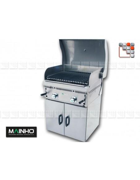 Parrillas PB-60 Arm-Grill 55 Mainho M36-GRLPB MAINHO® Royal Nova Bras Grill Parillas
