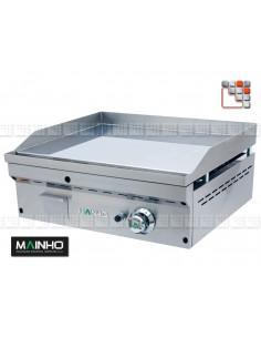Fry-Top FC-60 Gas-Full-Crom Mainho M04-FC60 MAINHO® FryTops MAINHO EURO-CROM SNACK