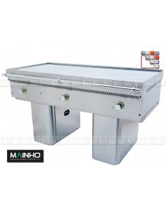 Teppanyaki FCE-150 7 TY 400V Mainho FCE-150/7TY MAINHO® Fry-Tops MAINHO EURO-CROM Snack