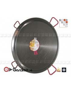 Plat Paella D115 Poli Garcima G05-10015 GARCIMA® LaIdeal Plat Paella Poli PataNegra Garcima