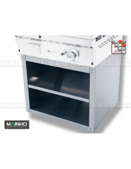 Meuble Inox Frytop Grill Mainho STM-60 MAINHO SAV - Accessoires Pièces détachées Mainho