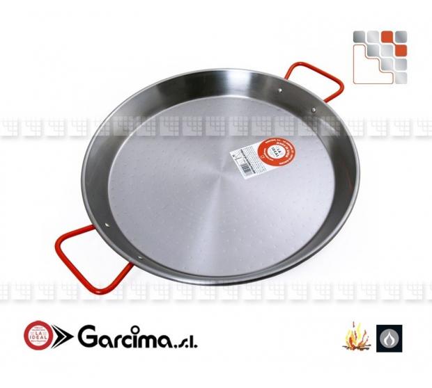 Plat Paella D50 Poli Garcima G05-10050 GARCIMA® LaIdeal Plat Paella Poli PataNegra Garcima