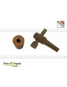 Plug + tap vinegar LAND Of ORIGIN T41-00361 Terres d'Origine Kitchen Utensils