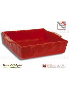 Plat carré Festo 250 x 210 x 70 pm TERRE D'ORIGINE
