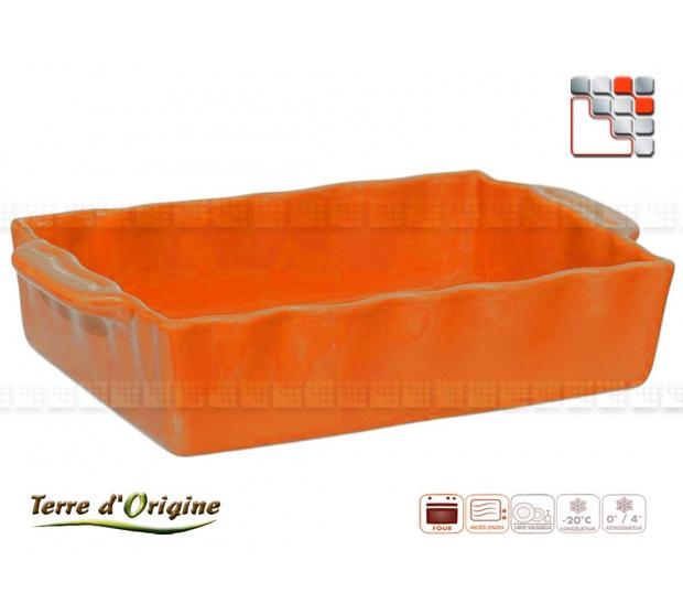Square flat Festo 300 x 260 x 70 MM Land of Origin 50200FST Terres d'Origine Table decoration