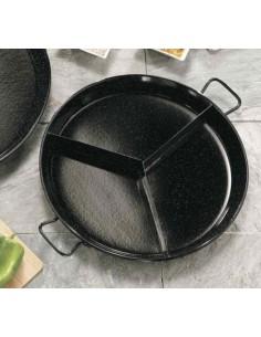 Multigusto Paella Dish G05-81342 GARCIMA® LaIdeal Enamelled PataNegra Paella Pan