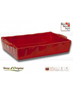 Plat rectangle Festo Terre d'Origine T29-00395C Terres d'Origine Art de la table
