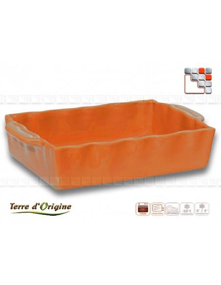 Flat rectangle Festo 350 x 210 x 70 Land of Origin 50200FST Terres d'Origine Table decoration