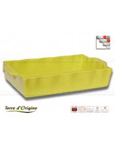 Plat rectangle Festo 420 x 250 x 80 GM Terre d'Origine