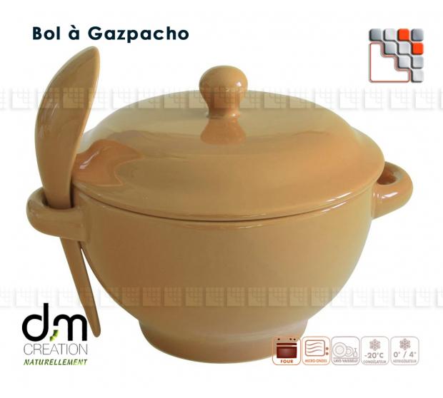 Bol à Gaspacho Terre d'Origine 502001 Terres d'Origine Art de la table