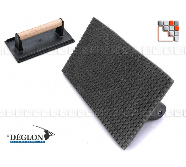 Presse Plancha Signature Déglon D15-6444121V DEGLON® Ustensiles de Cuisine